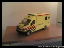 ambulancia - mercedes benz sprinter , da emergencia holandeza